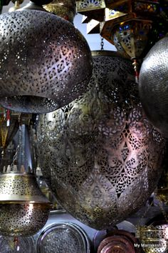 That glorious orb / egg shaped Moroccan lantern - oh!