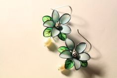 Polish earrings by Sydney Duong! Available on Etsy and YouTube! ^^
