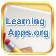 LearningApps.org jest aplikacją Web 2.0 wspierającą proces uczenia się i nauczania za pomocą małych interaktywnych modułów.