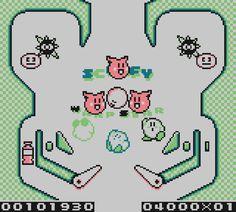 Kirby's Pinball Land pigs. From the Game Boy Crammer podcast, Episode 16. http://gameboycrammer.com/kirby-pinball-doraemon-raythunder/