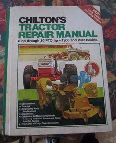 CHILTONS TRACTOR REPAIR MANUAL SERVICE BOOK REPAIR 1960 & LATER MODELS