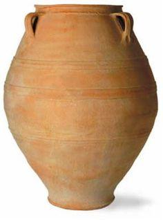 Cretan Oil Jar in Terracotta Finish design by Capital Garden Products | BURKE DECOR