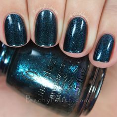China Glaze Don't Get Elfed Up   Cheers! Collection   Peachy Polish