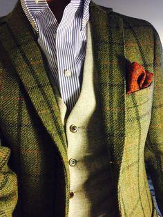 green tweed