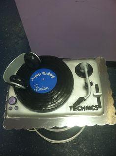 Fondant Turntable Cake