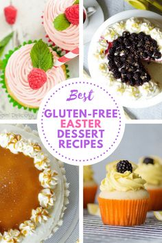 Best Gluten-Free Easter Desserts: From Cakes, to cupcakes, we've got you covered with some of the most flavorful, yet simple gluten-free desserts to share with your friends and family this Easter Holiday. via @gfpalate