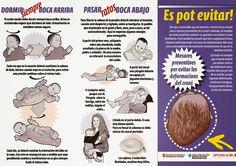 Diario de una mamá pediatra: Prevención de las deformidades craneales (plagiocefalia posicional) en lactantes