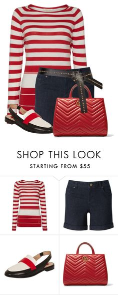 """""""Untitled #22024"""" by nanette-253 ❤ liked on Polyvore featuring Barbour, Phase Eight, Dorothy Perkins and Gucci"""