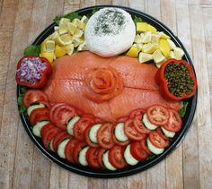 Image detail for -Whole Poached Salmon