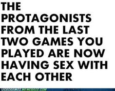 That would be Ezio Auditore da Firenze of Assassin's Creed and Alex Mason of Call of Duty: Black Ops I.