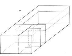 Axonometric Drawing #art #design #architecture #drawing #sketch #Axonometric