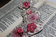 Mini Paper Heart Embellishments - Helmar Design Team