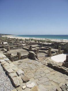 Baelo Claudia, a ruined Roman city by the beach in Bolonia, near Tarifa. They had the right idea.