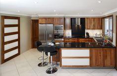Solid Blackwood Kitchen