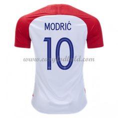 acb8b61e520 Fodboldtrøjer VM 2018 Kroatien Luka Modric 10 Hjemmebanetrøjer