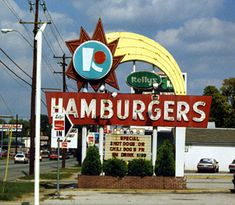 Kelly's Hamburgers pre-dated McDonalds and Burger King in many places. In New England, Boston Red Sox player Rico Petrocelli did commercials.