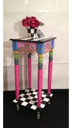 whimsical painted furniture whimsical painted table whimsical painted furniture alice in wonderland furniture by michelespraguedesign on etsy alice in wonderland inspired furniture