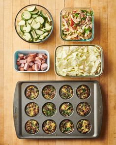 Simple Keto Meal Prep Plan | Kitchn Easy Egg Breakfast, Frozen Appetizers, Meal Prep Plans, Family Meal Planning, Make Ahead Lunches, On Repeat, Easy Family Meals, A Table, Recipe Search