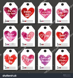Find Vector Valentines Cards Templates Hand Drawn stock images in HD and millions of other royalty-free stock photos, illustrations and vectors in the Shutterstock collection. Happy Valentines Day, Valentine Cards, Love Is All, Gift Tags, Hand Drawn, Create Yourself, How To Draw Hands, Holiday, Gifts