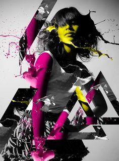 Design a Paint Splashing Effect Into Your Image | Media Militia
