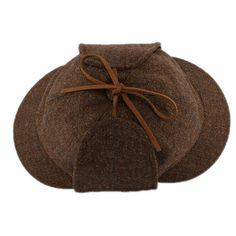 Casquette Sherlock Holmes en tweed Marron par Christys' London La tradition Anglaise sur Hatshowrrom.com #chapeau #casquette