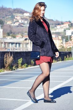 I consigli per sfruttare un vestitino estivo anche in inverno! Leggi questo post! | Some useful tips to use a summer dress during the winter season! | The fashion peony blog