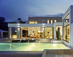 casas com platibanda terrea - Pesquisa Google