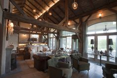 Open plan chic with great lighting