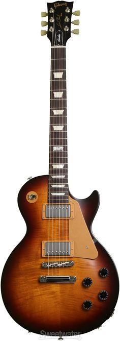 Gibson Les Paul Studio - 2014, Desert Burst... like the the saddle setup