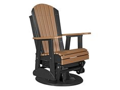 10 Best Plastic Adirondack Chairs in 2019 - Cool Things to Buy 247 Adirondack Rocking Chair, Adirondack Chairs For Sale, Swivel Glider Chair, Recycled Plastic Adirondack Chairs, Rustic Chair, Gliders, A Table, Outdoor Chairs, Cool Things To Buy