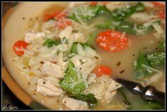 Makin' it Mo' Betta: Meyer Lemon Chicken Orzo Soup