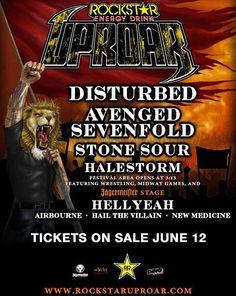Rockstar Energy Drink Uproar 2010.  Went in Fargo.
