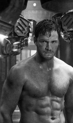 film movies chris pratt guardians of the galaxy peter quill star lord Peter Quill, Chris Pratt Shirtless, Shirtless Men, Christopher Pratt, Actrices Hollywood, Hommes Sexy, Hot Actors, Star Lord, Guardians Of The Galaxy