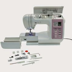 The 10 basic functions of a beginner sewing machine , Sewing Hacks, Sewing Tutorials, Sewing Tips, Techniques Couture, Crochet Bookmarks, Creation Couture, Couture Sewing, Diy Blog, Vintage Diy
