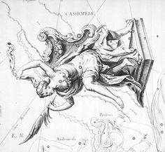 An earlier name for Cassiopeia was Cassiopeia's Chair. A legend from ancient Greek mythology explains why.