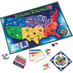 Speech Room News: Reading Roadway-Reading Comprehension Game {review & giveaway} Pinned by SOS Inc. Resources. Follow all our boards at pinterest.com/sostherapy/ for therapy resources.