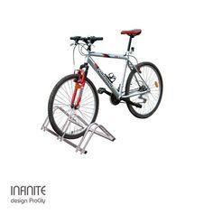 Support cycles modulaire INFINITE - 3 places, Acier galvanisé- Design ProCity