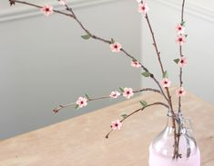 Flowering Branches (Paper Cherry Blossoms) | Tutorial