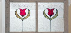 colored glass window panes | Panes to Petals is a custom stained glass window design studio owned ...