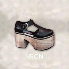 #New Arrival! NEON #croco #black del 35 al 40 #AlexandraBahl