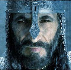 Ghassan Massoud as Saladin in the film Kingdom of Heaven