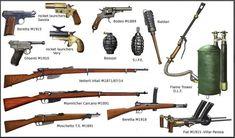 WW1 Italian Weapon by AndreaSilva60