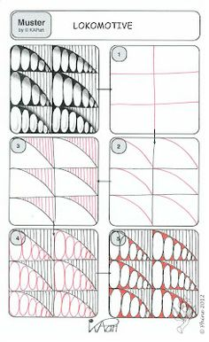 The Lokomotive Pattern at zendoodle-wege; get permission if you plan on selling any of your doodles using these :).