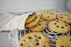 Subway Cookies: Chocolate Chip Cookies / softe und zarte Kekse