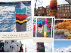 urban knitting/ bombing