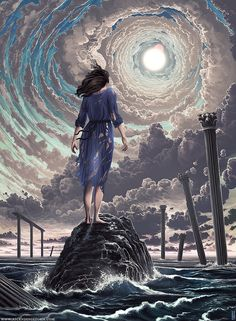 Jeffrey Smith (aka Ascending Storm) | The Dancing Rest https://thedancingrest.com/2016/08/18/new-paintings-by-jeffrey-smith-aka-ascending-storm/