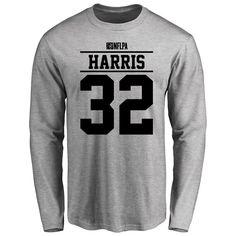 DuJuan Harris Player Issued Long Sleeve T-Shirt - Ash