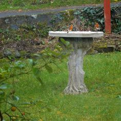 How To Make A Mosaic Bird Feeding Table