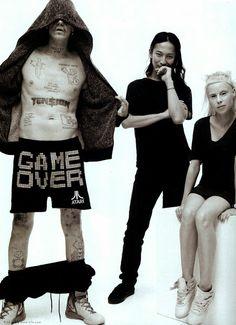 My favorite people: Alexander Wang  with Die Antwoord