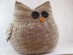 Knitting an Owl - Natural Suburbia